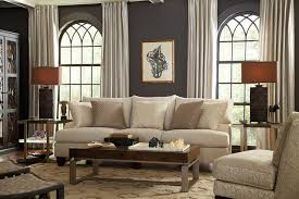 eclectic living room furniture. Interesting Living Living Room Neutral And Eclectic With Brooke Sofa Eclecticlivingroom Throughout Room Furniture