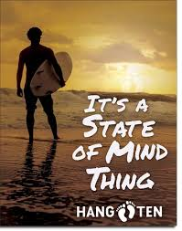 order this item online  on hang ten wall art with hang ten state of mind misc signs tin signs wall decor