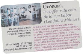 Salon De Coiffure Au Coin De La Rue Labat à Paris 18e
