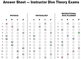 Padi Dive Chart Pdf Online Learning For Your Dive Instructor Course The Good