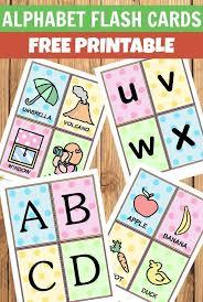 Free Alphabet Flash Cards Alphabet Flash Cards