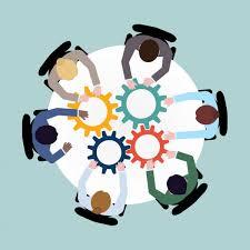 Vecteurs pour Coopération, Illustrations libres de droits pour Coopération  | Depositphotos®