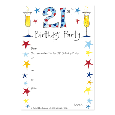 21st birthday invitations wording 5870