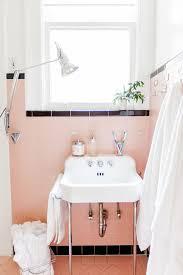 exciting pink black bathroom