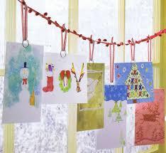 Creative Christmas Cards Creative Christmas Card Display Ideas