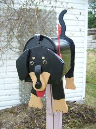 Decorative Mail Boxes Dachshund mailbox Decorative Mailboxes Crafts Other Art 53
