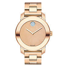 movado watches ladies men s movado designer watches ernest jones movado bold ladies rose gold plated bracelet watch product number 3576086
