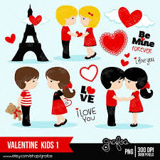 happy valentines day clip art for kids. Brilliant Kids VALENTINE KIDS 1 Digital Clipart  Happy Valentines Day Clipart Valentine  ClipArt On Valentines Clip Art For Kids D