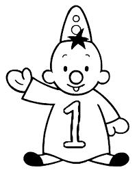 Verjaardag Kleurplaten 1 Jaar Verjaardag Circus Clown Mardi