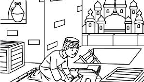 Islamic Coloring Pages Islamic Coloring Sheets Coloring Pages Word