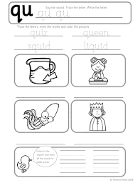 Our free phonics worksheets are colors, simple, and let kids understand phonics in a natural way through fun reading and speaking activities. Phonics Worksheets Lesson Plan Flashcards Jolly Phonics Letter Q Lesson Pack Teaching Resources