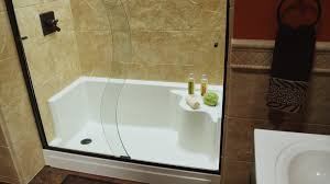 Tub To Shower Conversion The Refreshing Remodelbathroom Easy Access Bathtubs Showers
