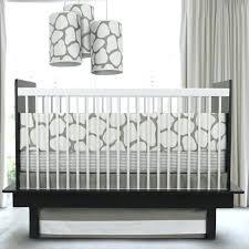 full size of fancy grey and white crib bedding cobblestone gray elephant