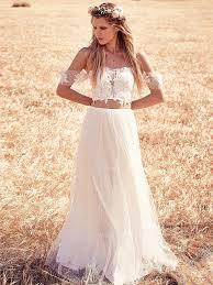 boho dresses wedding. Boho Chic Wedding Dresses For Summer 2018 FashionGumcom