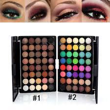 40 colors studio special eyeshadow palette makeup long lasting matte pearl shimmer eye shadow estic makeup eyeshadow palette in eye shadow from beauty