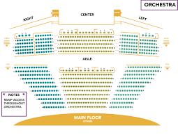 Carol Morsani Hall Seating Chart Seating Info Venice Performing Arts Center