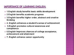 Essay About Learning English Language Essay About Importance Of Learning English Language Mistyhamel