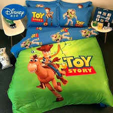 details about new toy story buzz woody bedding set queen king bed cotton rare duvet comforter