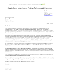 sample cover letter for employment consultant cover letter how to write a cover