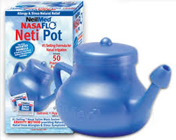 neti pot saline solution this works wonders for your sinuses it will