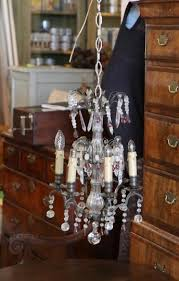 small antique french chandelier