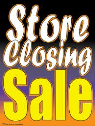Window Sign Store Closing Sale Signs4retail