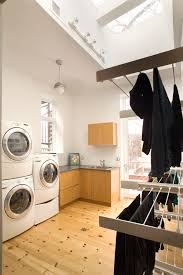 laundry room drying rack ideas laundry room contemporary with bamboo ceiling fan clerestory baseboards ceiling fan