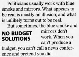 meaning and origin of the phrase 'smoke and mirrors' | word histories
