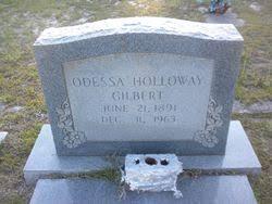 Odessa Holloway Gilbert (1891-1963) - Find A Grave Memorial