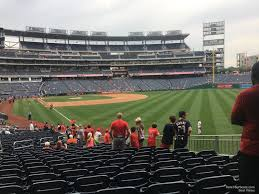 Nationals Seating Chart With Row Numbers Nationals Park Section 137 Washington Nationals