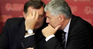 Image result for milorad dodik i dragan covic