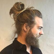 The Man Bun Hairstyle