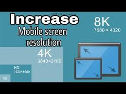 how to increase mobile screen