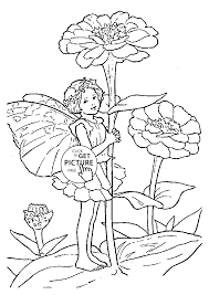 Small Picture Flower Fairy Coloring Pages Coloring Coloring Pages