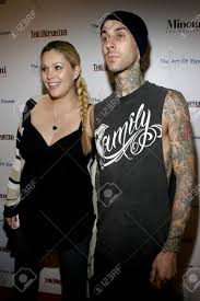 Travis barker has quickly become one of the most influential musicians on the rock scene today. Travis Barker Of Blink 182 And Shanna Moakler At The Art Of Elysium Stock Photo Picture And Royalty Free Image Image 77281150