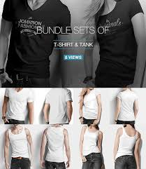mockup t shirt t shirt tank shirt bundle mock up by sreda graphicriver