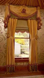 Victorian window treatments Red Drapery Panels Shade Valance Swag Jabots Traditional Window Treatments Page Pinterest Drapery Panels Shade Valance Swag Jabots Traditional Window