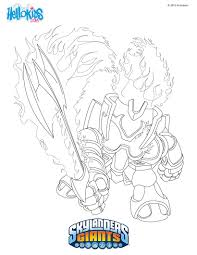 Engaging Skylander Giants Coloring Pages Printable Photos Of Funny