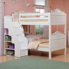 bunk beds with stairs. White Bunk Beds With Stairs Image