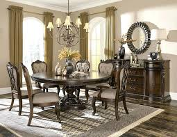park formal dining room set with round to oval table tables centerpiece ideas