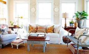 cottage living room design. plates-on-wall-cottage-living-room cottage living room design h