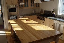 edge grain wood countertops
