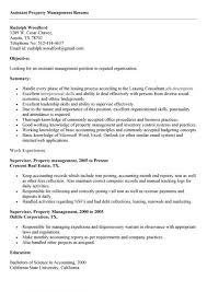 Property Management Resume Samples Assistant Property Manager Resume Fresh 20 Assistant Property