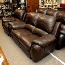 la z boy leather reclining suite 3 2 1