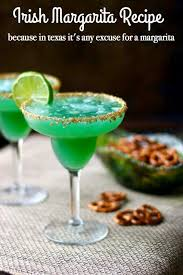 enjoy this fruity irish margarita l recipe for st paddy s day from restlesschipotle