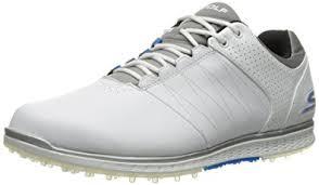 skechers elite. skechers performance men\u0027s go golf elite 2 wide shoe, white/gray/blue
