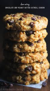 clean eating chocolate chip peanut er oatmeal cookies these skinny cookies don best