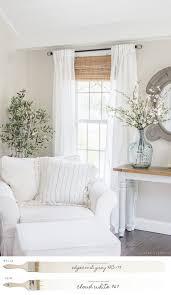 new england farmhouse neutral paint color scheme edgeb gray family room