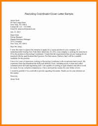 9 Sample Email To Recruiter Sap Appeal