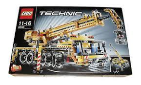Lego Technic Mobile Crane 8053 Ebay